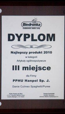 Najlepszy produkt 2010